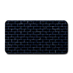 Brick1 Black Marble & Blue Marble Medium Bar Mat by trendistuff
