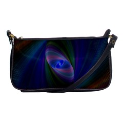 Eye Of The Galactic Storm Shoulder Clutch Bags by StuffOrSomething