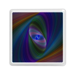 Eye Of The Galactic Storm Memory Card Reader (square)  by StuffOrSomething