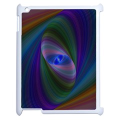 Eye Of The Galactic Storm Apple Ipad 2 Case (white) by StuffOrSomething