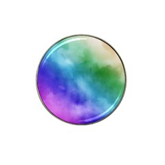 Rainbow Watercolor Hat Clip Ball Marker (10 Pack) by StuffOrSomething