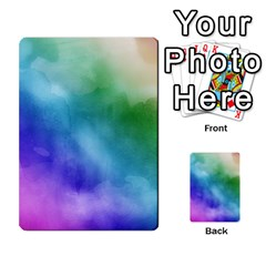 Rainbow Watercolor Multi Purpose Cards (rectangle)  by StuffOrSomething