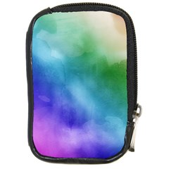 Rainbow Watercolor Compact Camera Cases by StuffOrSomething