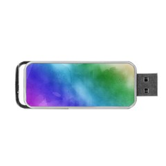 Rainbow Watercolor Portable Usb Flash (one Side) by StuffOrSomething