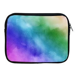 Rainbow Watercolor Apple Ipad 2/3/4 Zipper Cases by StuffOrSomething