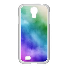 Rainbow Watercolor Samsung Galaxy S4 I9500/ I9505 Case (white) by StuffOrSomething
