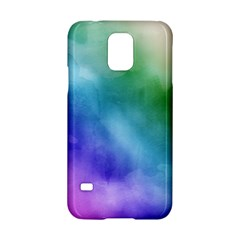 Rainbow Watercolor Samsung Galaxy S5 Hardshell Case  by StuffOrSomething