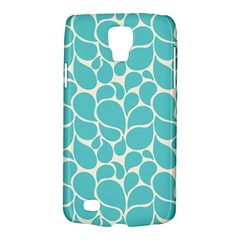 Blue Abstract Water Drops Pattern Galaxy S4 Active by TastefulDesigns