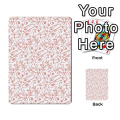 Hand Drawn Seamless Floral Ornamental Background Multi Purpose Cards (rectangle)