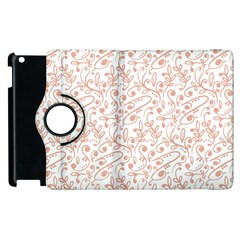 Hand Drawn Seamless Floral Ornamental Background Apple Ipad 2 Flip 360 Case by TastefulDesigns