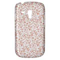 Hand Drawn Seamless Floral Ornamental Background Samsung Galaxy S3 Mini I8190 Hardshell Case by TastefulDesigns