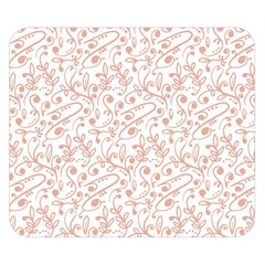 Hand Drawn Seamless Floral Ornamental Background Double Sided Flano Blanket (small)  by TastefulDesigns