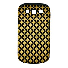 Circles3 Black Marble & Gold Brushed Metal (r) Samsung Galaxy S Iii Classic Hardshell Case (pc+silicone) by trendistuff