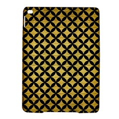 Circles3 Black Marble & Gold Brushed Metal (r) Apple Ipad Air 2 Hardshell Case by trendistuff