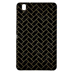 Brick2 Black Marble & Gold Brushed Metal Samsung Galaxy Tab Pro 8 4 Hardshell Case by trendistuff
