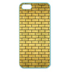 Brick1 Black Marble & Gold Brushed Metal (r) Apple Seamless Iphone 5 Case (color) by trendistuff