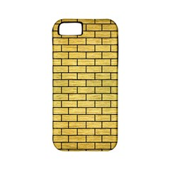 Brick1 Black Marble & Gold Brushed Metal (r) Apple Iphone 5 Classic Hardshell Case (pc+silicone) by trendistuff