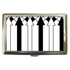 Funny Black and White Stripes Diamonds Arrows Cigarette Money Cases