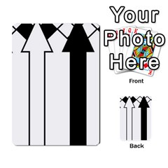 Funny Black And White Stripes Diamonds Arrows Multi Purpose Cards (rectangle)  by yoursparklingshop