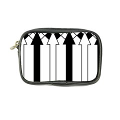 Funny Black and White Stripes Diamonds Arrows Coin Purse