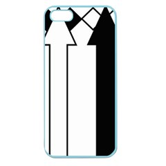 Funny Black and White Stripes Diamonds Arrows Apple Seamless iPhone 5 Case (Color)