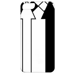 Funny Black and White Stripes Diamonds Arrows Apple iPhone 5 Classic Hardshell Case