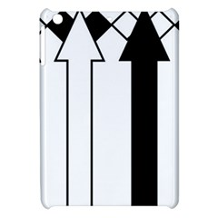 Funny Black and White Stripes Diamonds Arrows Apple iPad Mini Hardshell Case