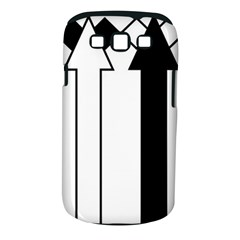 Funny Black and White Stripes Diamonds Arrows Samsung Galaxy S III Classic Hardshell Case (PC+Silicone)