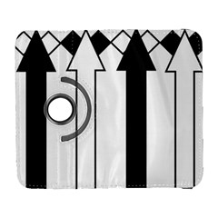 Funny Black and White Stripes Diamonds Arrows Samsung Galaxy S  III Flip 360 Case