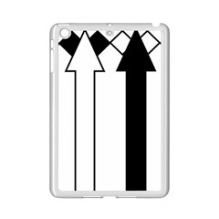 Funny Black and White Stripes Diamonds Arrows iPad Mini 2 Enamel Coated Cases