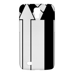 Funny Black and White Stripes Diamonds Arrows Samsung Galaxy Mega 6.3  I9200 Hardshell Case