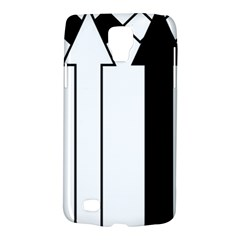 Funny Black and White Stripes Diamonds Arrows Galaxy S4 Active