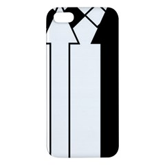 Funny Black and White Stripes Diamonds Arrows iPhone 5S/ SE Premium Hardshell Case