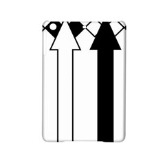Funny Black and White Stripes Diamonds Arrows iPad Mini 2 Hardshell Cases