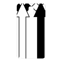 Funny Black and White Stripes Diamonds Arrows Samsung Galaxy Note 3 N9005 Hardshell Back Case