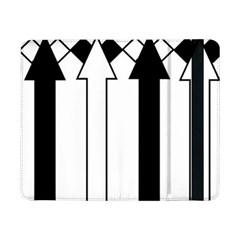 Funny Black and White Stripes Diamonds Arrows Samsung Galaxy Tab Pro 8.4  Flip Case