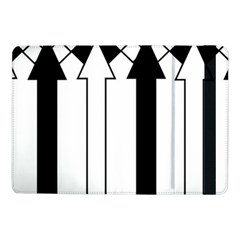 Funny Black and White Stripes Diamonds Arrows Samsung Galaxy Tab Pro 10.1  Flip Case