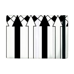 Funny Black and White Stripes Diamonds Arrows iPad Mini 2 Flip Cases