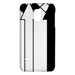 Funny Black and White Stripes Diamonds Arrows Galaxy S5 Mini
