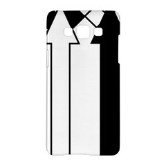 Funny Black and White Stripes Diamonds Arrows Samsung Galaxy A5 Hardshell Case