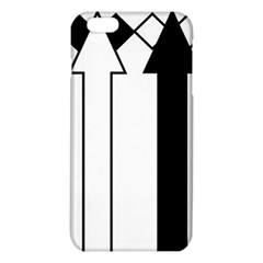 Funny Black and White Stripes Diamonds Arrows iPhone 6 Plus/6S Plus TPU Case