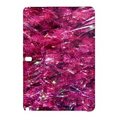 Festive Hot Pink Glitter Merry Christmas Tree  Samsung Galaxy Tab Pro 10 1 Hardshell Case by yoursparklingshop