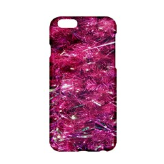 Festive Hot Pink Glitter Merry Christmas Tree  Apple Iphone 6/6s Hardshell Case by yoursparklingshop