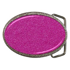 Metallic Pink Glitter Texture Belt Buckles by yoursparklingshop