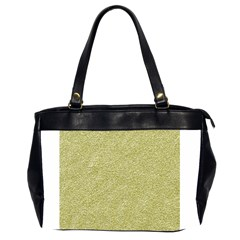 Festive White Gold Glitter Texture Office Handbags (2 Sides)  by yoursparklingshop