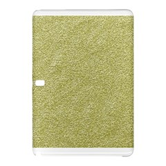 Festive White Gold Glitter Texture Samsung Galaxy Tab Pro 10 1 Hardshell Case by yoursparklingshop