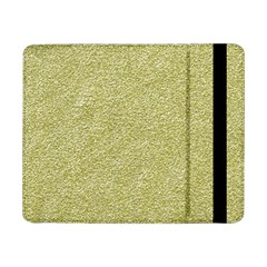 Festive White Gold Glitter Texture Samsung Galaxy Tab Pro 8 4  Flip Case by yoursparklingshop