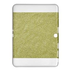 Festive White Gold Glitter Texture Samsung Galaxy Tab 4 (10 1 ) Hardshell Case  by yoursparklingshop