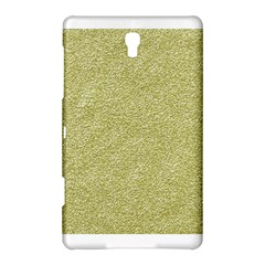 Festive White Gold Glitter Texture Samsung Galaxy Tab S (8 4 ) Hardshell Case  by yoursparklingshop