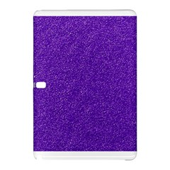 Festive Purple Glitter Texture Samsung Galaxy Tab Pro 10 1 Hardshell Case by yoursparklingshop